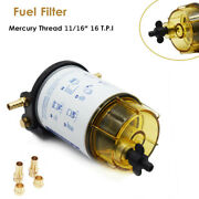 Boat Motor Clear Marine Outboard Fuel Filter Water Separator Mercury 35-60494-1