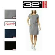 Sale 32° Degrees Ladies' Cool Dress With Elastic Tight Waist   Variety   B43