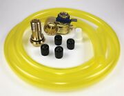 Fumoto F111sx Oil Drain Valve With Hd Pro 3' Hose Kit For Fumoto S And Sx Nipple