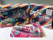 Lot Of 3, Party Popteenies Summer Popparty Pool Time Set/box Play Set/dbl Popper
