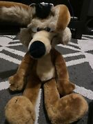 Warner Brothers Wb Mighty Star 17andrdquo Wile E Coyote Plush 1971 Wired Stuffed