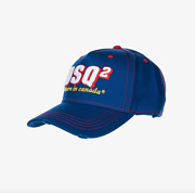 Dsquared2 And039born In Canadaand039 Baseball Cap - Blue - Reduced To Clear