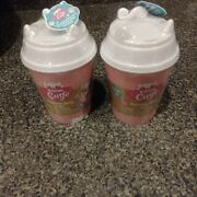 Lot Of 2 Kitten Catfe Purrista Girls Cafe Dolls 1 Set Each Cup New In Hand