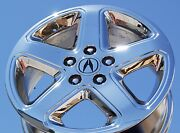 4-new Chrome 17 Acura Cl Type-s Oem Factory Wheels Rims Tl Mdx Tsx Rsx 71715