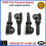 4pcs Hc3z-1a189-ab New Tpms Tire Pressure Monitor Sensors For Ford Expedition