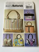 Lot Of 8 Butterick Purse And Accessories Sewing Patterns Uncut