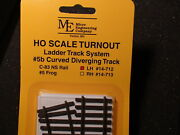 Micro- Engineering 14-712 Ho Ladder Track System Turnout Lh 5b Code 83
