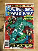 Powerman Iron Fist Six Issues Including 2nd And 4th App Of Sabretooth