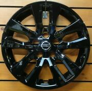 1 New 16 Wheel Cover Hubcap Fits 2013-2018 Nissan Altima 16 53088 Black