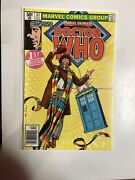 Marvel Premiere Doctor Who 1980 57 Vf/nm First American 1st Appearance