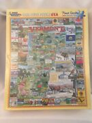 White Mountain Puzzles Vermont - 1000 Piece Jigsaw Puzzle New Factory Sealed