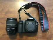 Canon Eos 30d And Ultrasonic Ef-s 17-85mm F/4-5.6 Image Stabilized Lens -untested-