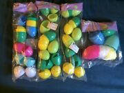 Spritz Plastic Easter Eggs 3 12 Packs Of Small Eggs And 1 6 Pack Of Large Eggs