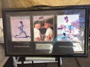 Water Damaged Mandm Boys Mickey Mantle And Roger Maris Ny Yankees 3 In 1 8x10 Photos