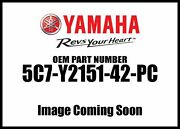 Yamaha 2014 Raider Scl Front Fender Assembly 5c7-y2151-42-pc New Oem