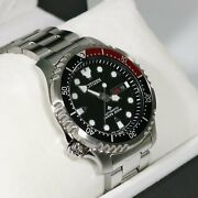 Citizen Promaster Sea Stainless Steel Automatic Black Dial Watch Ny0085-86e