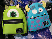 Loungefly Disney Pixar Monster's Inc. Sully And Mike Backpack