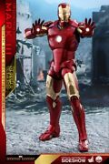 Iron Man Mark Iii Deluxe Version 1/4 Scale Hot Toys New Sideshow