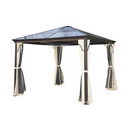 Outdoor Patio Canopy Gazebo Backyard Conversation Cover Shelter All Weather