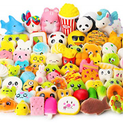 Watinc Random 70 Pcs Squishies, Birthday Gifts For Kids Party Favors, Slow Bread
