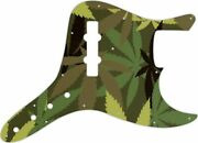 Wd Custom Pickguard For Fender Vintage 1970's-1980's 20 Fret Jazz Bass With C...