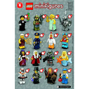 Bundle Lot F - Lego 71000 Series 9 Minifigures New-other Opened For Photos Only