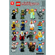 Bundle Lot D - Lego 71000 Series 9 Minifigures New-other Opened For Photos Only
