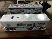 2006 Hess Toy Truck And Helicopter Loader New- Has Some Box Wear