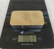 1063 Grams Scrap Gold Bar For Gold Recovery Melted Different Computer Coin Pins