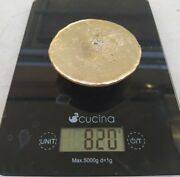820 Grams Scrap Gold Bar For Gold Recovery Melted Different Computer Coin Pins