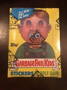 1988 Topps Garbage Pail Kids 12th Series 12 Box W/ 25 Cents Bbce Non X-out Clean