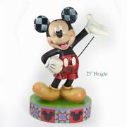 Jim Shore Disney Traditions - Mickey Mouse Extra Large Statue The One And Only