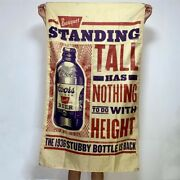 Coors Banquet Beer Flag Stubby Bottle Ad Banner Tapestry Sign Art Poster 3x5 Ft