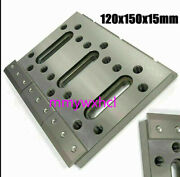 Edm Wire Fixture Board Stainless Jig Tool For Clamping And Leveling 120x150x15mm