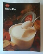 1967 Dq Dairy Queen Home Pak Ice Cream Litho Store Advertising Poster Sign