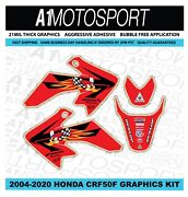 Honda Crf50 Woody Factory Hrc Team Graphics 2004-2020 21mil Thick Laminated