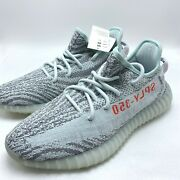 Adidas Yeezy Boost 350 V2 Blue Tint B37571 100 Authentic Menand039s Size 4-13