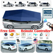 Portable Fully Automatic Anti-uv Protection Car Umbrella Tent Roof Cover Remote
