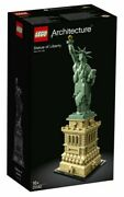 Unopened Factory Sealed Statue Of Liberty Lego® Architecture 21042