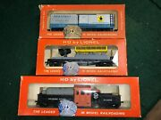 Lionel Ho Cars 0039 Track Cleaning 0880 Search Light 0864-75 Bando Box Car