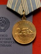 Authentic Medal For Saving Life From Drowning 1957 With Award Booklet .