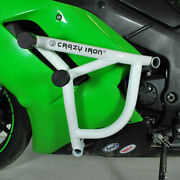 Crazy Iron Kawasaki Zx6r `07-`08 Engine Guard Cage Pro, Subcage