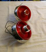 1953_1954 Ford Tail Lights Pair Genuine Used Original Ford 1