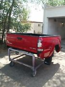 2008-2015 Toyota Tacoma Crew Cab Bed/box 5and039 Box W/fender Flare Red