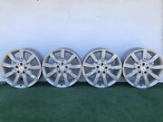 2007-09 Mercedes Benz S550 S600 18 Genuine Factory Oem Wheels Rims Set Of 4