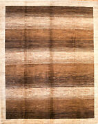 Hand-knotted Rug Carpet X9and0398rug Gabeh Mint Condition