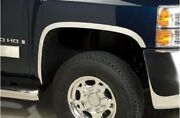 Fender Trim Polished Stainless Steel 1.5 . Fits Chevy Silverado 2007-2013