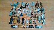 Star Wars Toy Lot - Action Figures,mini Figs-ships,die Cast,hot Wheels,galactic