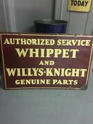 Authorized Service Whippet And Willys-knight Genuine Parts