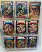 Garbage Pail Kids Chrome Series 1 And 2 Atomic Refractor Complete Sets